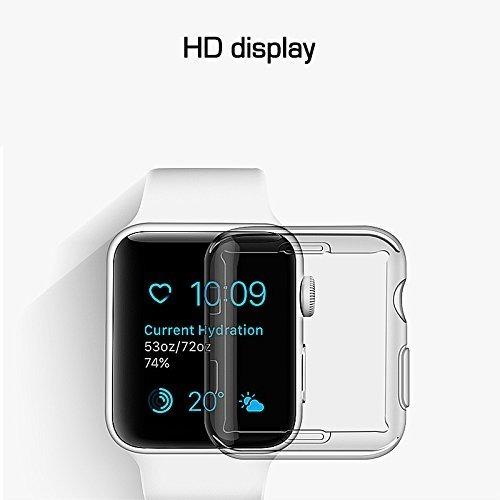 cover protector reloj apple watch series 3 funda 42mm x 2 un