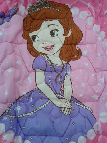 cover quilt princesita sofia 1 1/2pl (piñata)
