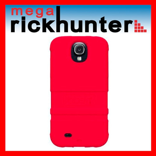 cover silicona trident perseus galaxy s4 rojo