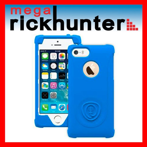 cover silicona trident perseus iphone 5 azul