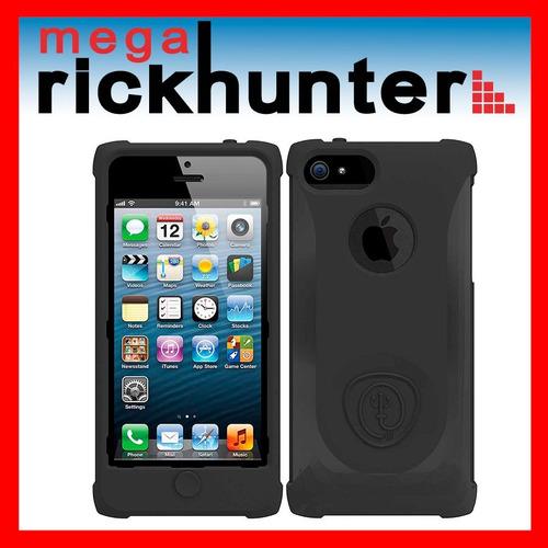 cover silicona trident perseus iphone 5 negro