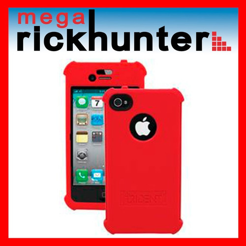 cover silicona trident perseus iphone 5 rojo
