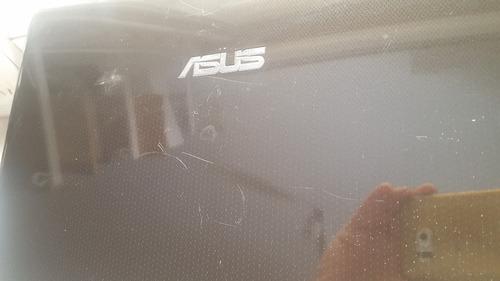 cover tapa de display para notebook asus k50 marcas de uso