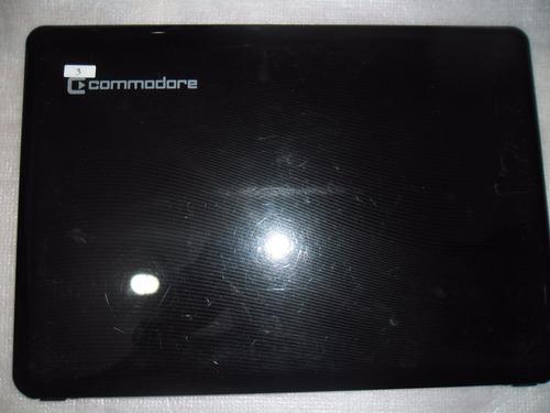 cover tapa de display para notebook commodore a24a, tcl, rca