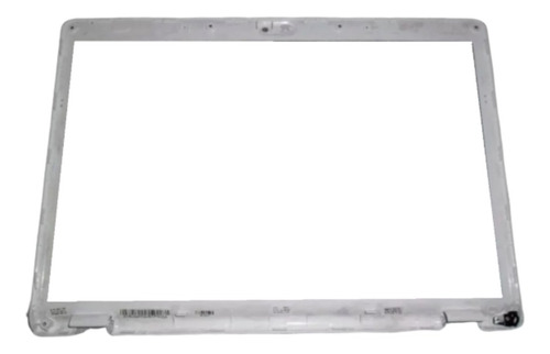 cover tapa y marco de display hp dv6000 dv6700 blanca