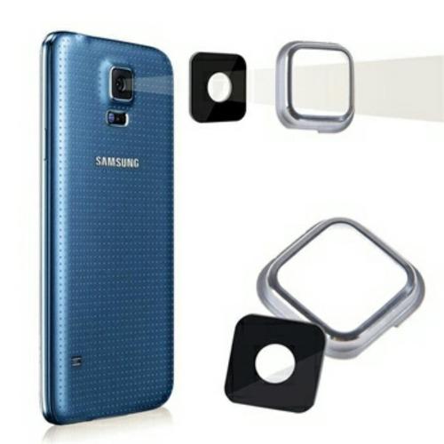 cover vidrio glass protector marco cámara samsung galaxy s5