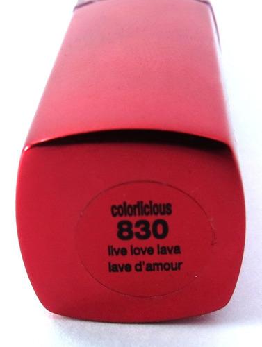 covergirl lip lava colorlicious live love 830