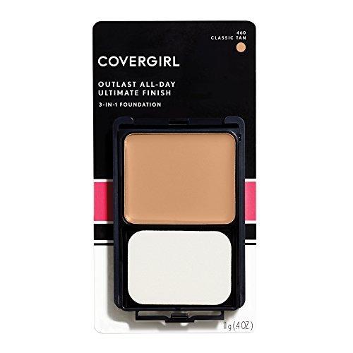 covergirl maquillaje en polvo líquido ultimate finish classi