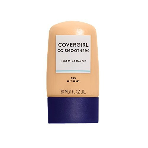 covergirl smoothers maquillaje hidratante miel suave, 1 oz