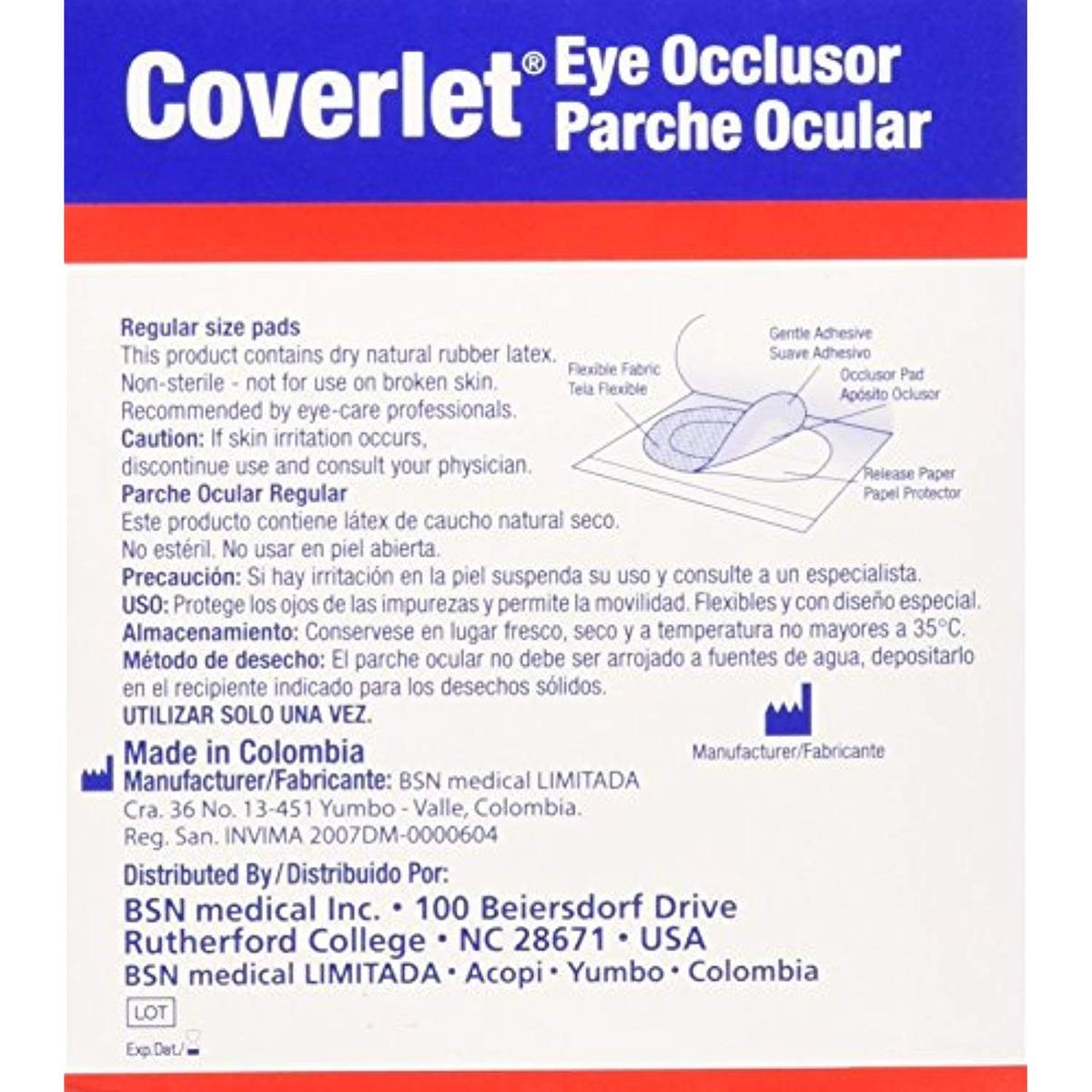 Coverlet Eye Occlusor