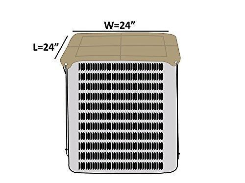 covermates - armadura de la cubierta superior - 24w x 24d -