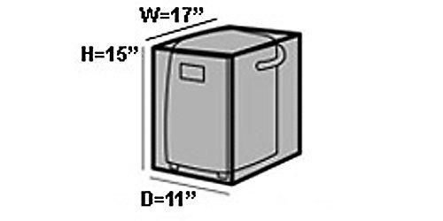 covermates - máquina de hacer pan cubierta - 17w x 11d x 15