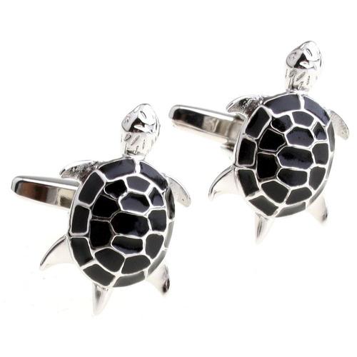 covink® cute turtle negro figura de los hombres traje francé