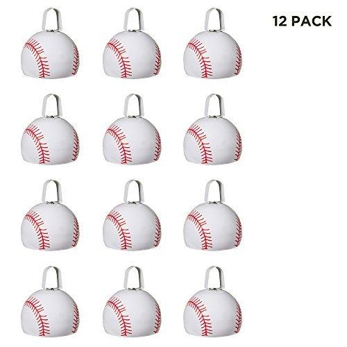 cowbells de béisbol  312  paquete de 12