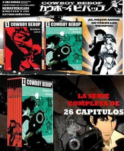 cowboy bebop la serie 7 dvd 26 capítulos cazador recompensas