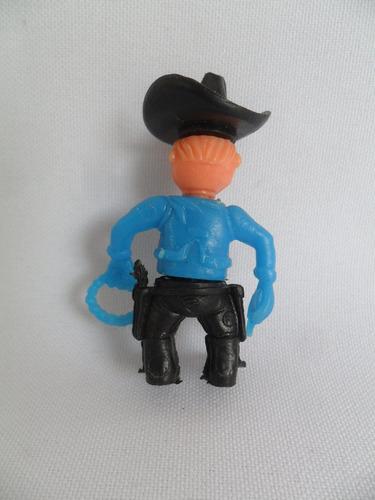 cowboy miniatura boneco de plástico tipo forte apache