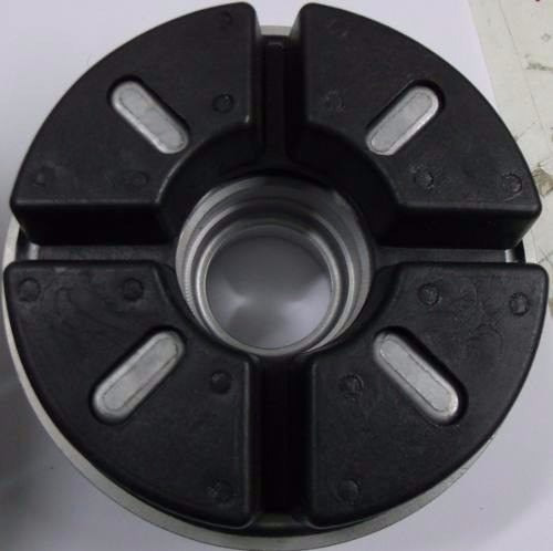 coxim (bucha) coroa titan 150 - borracha (colar acoplado)