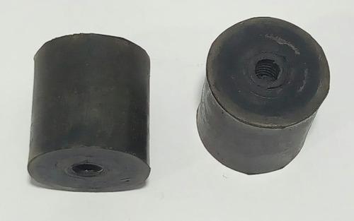 coxim inferior radiador troller 2001 a 2014 kit 2 peças