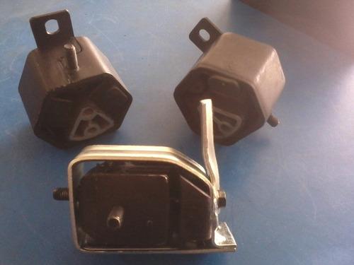 coxim motor+cambio escort verona 1.6 cht 83/92 3 peças