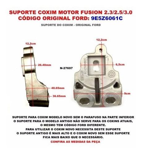 coxim motor fusion 2.3 com suporte hidráulico 2006 a 2009