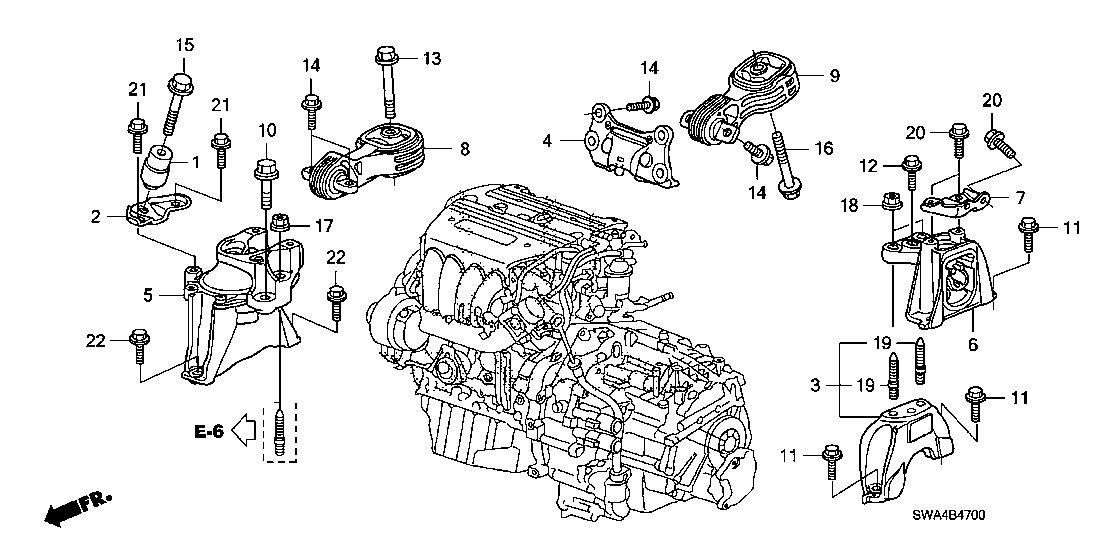 honda cr v 2017 engine diagram
