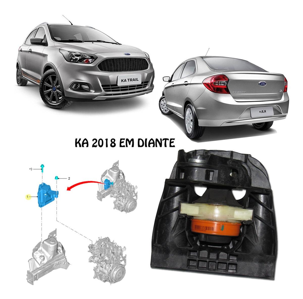 Coxim Motor Lado Direito Ka 2019 Em Diante 1 5 Dragon R 591 95