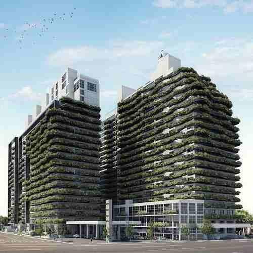coyoacán, ecológicos departamentos en city tower green, rodeado de entorno verde