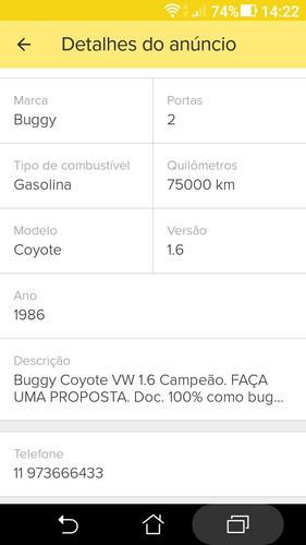 coyote buggy 1.6