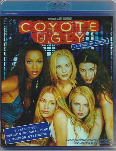 coyote ugly version original y extendida pelicula blu-ray