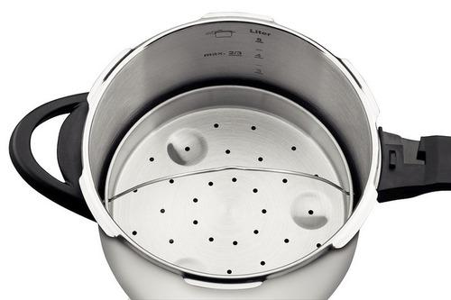 cozi vapore inox ø22cm clock para panela de pressao (novo)