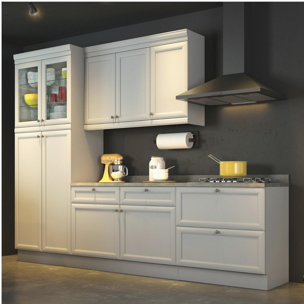 Cozinha Compacta Em L Carregando Zoom Cozinha Compacta Com Gavetas