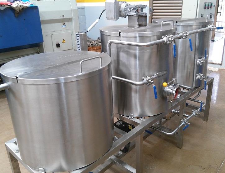 Cozinha automatizada cervejaria artesanal 100 a 500 for Tanque hidroneumatico 100 litros