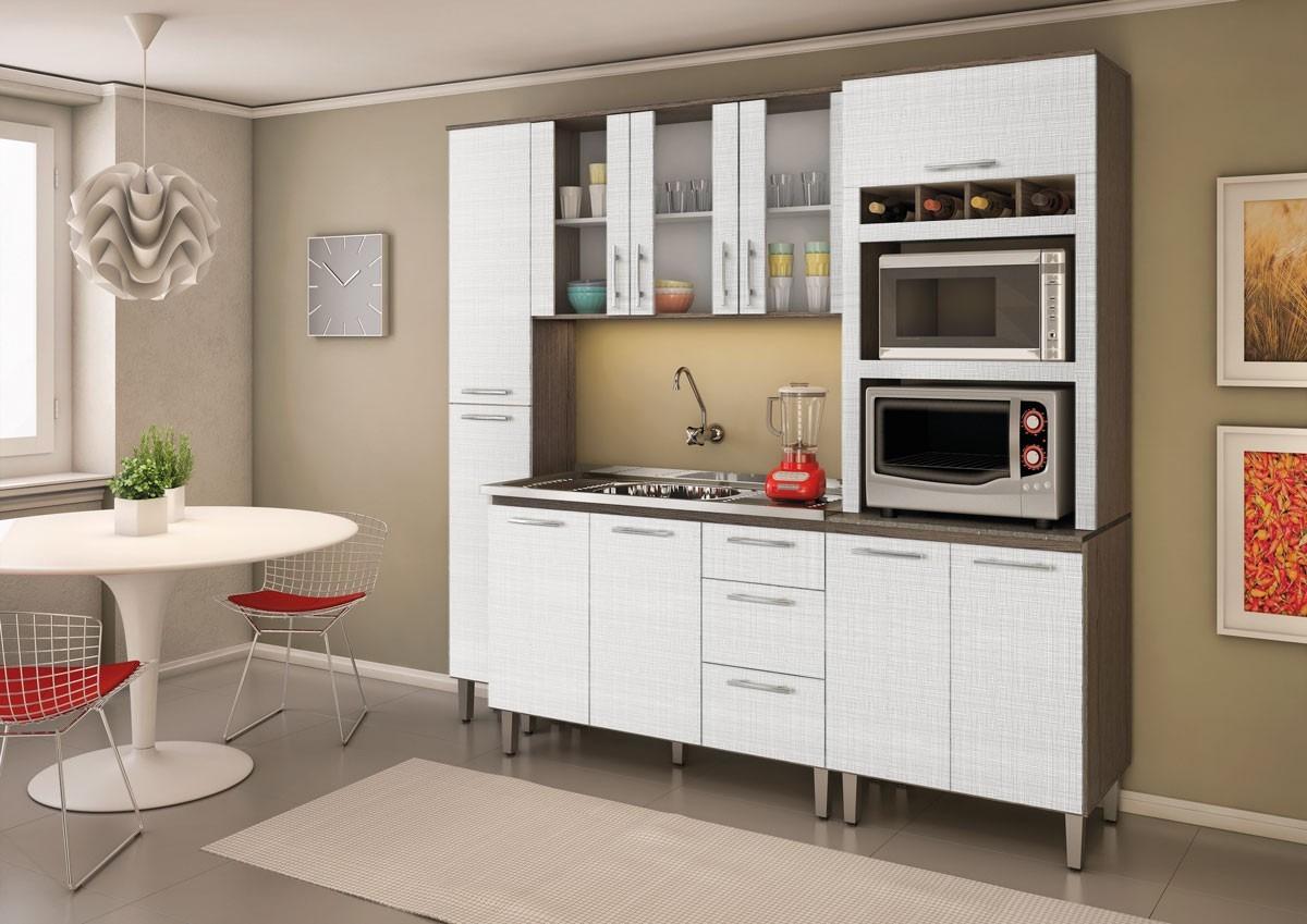 Cozinha Compacta 10 Portas 100 Mdf Malu Nicioli R 1 190 00 Em