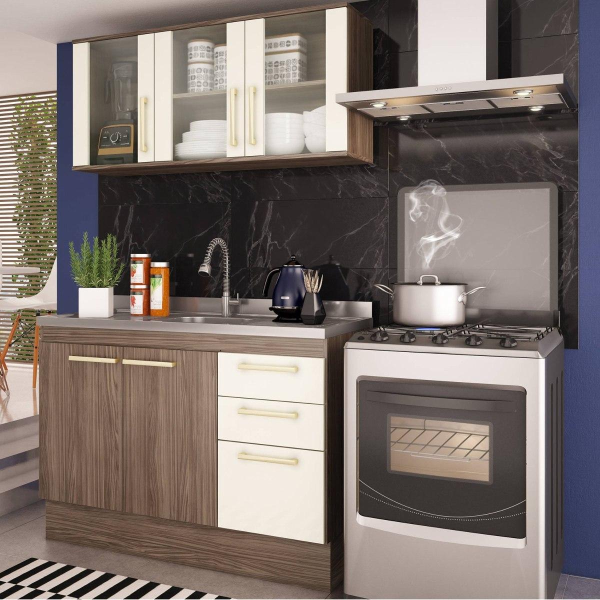 Cozinha Compacta 2 Pe As Zafira A1891 Casamia N O Cg R 469 90 Em