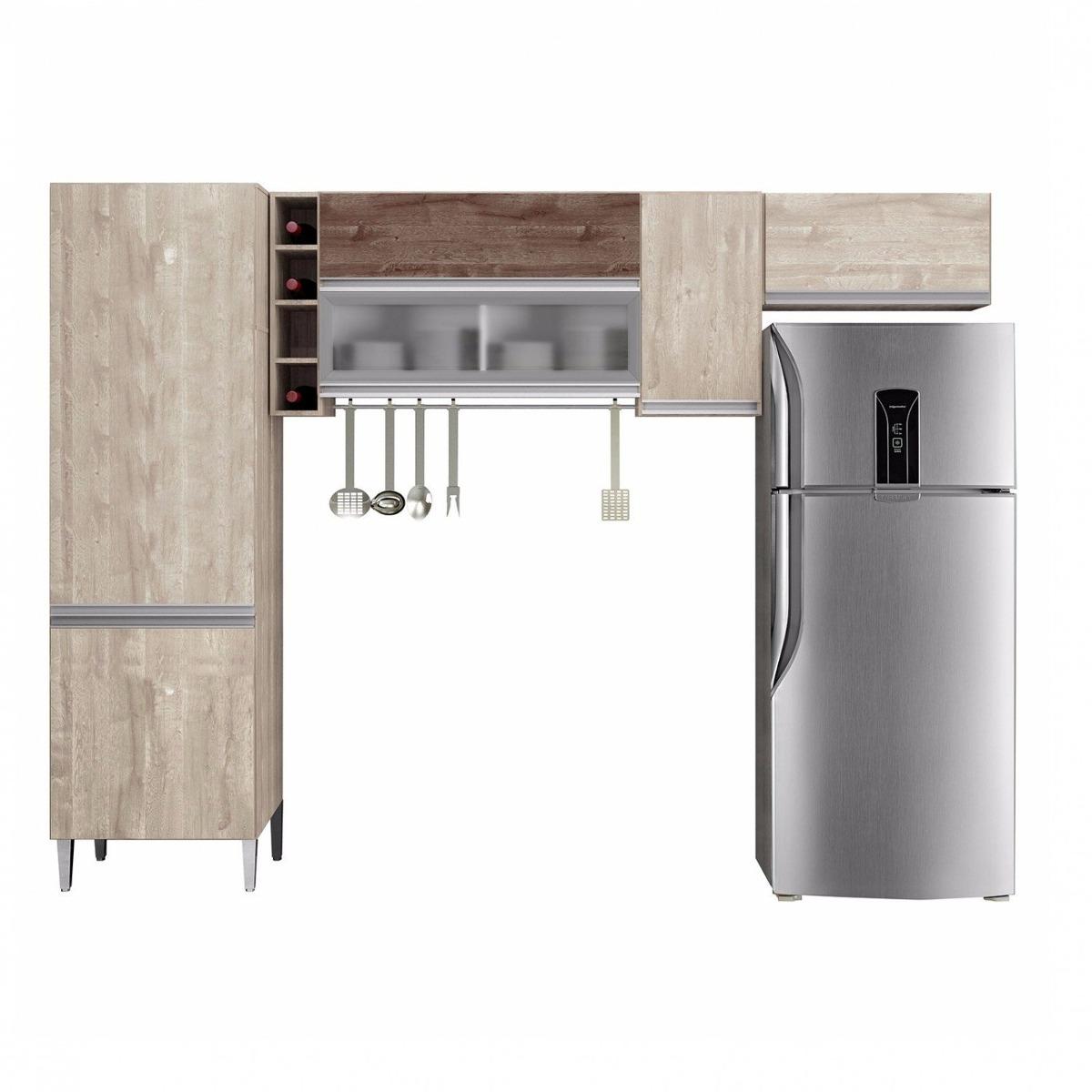 Cozinha Compacta 3 Pe As 6 Portas Bano Chf N O Cwt R 729 50 Em