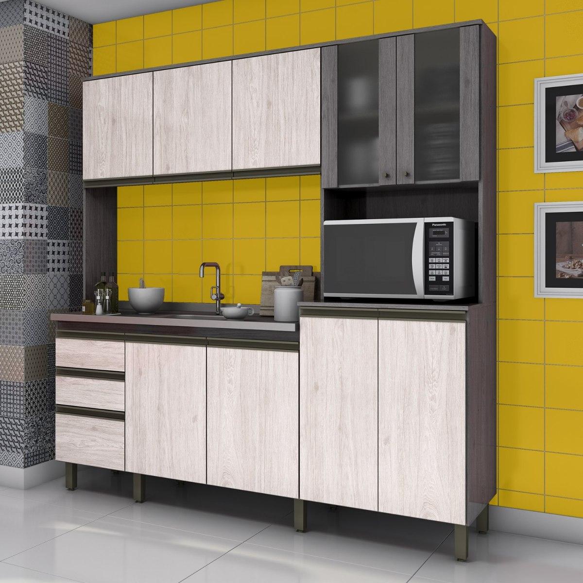 Cozinha Compacta 3 Pe As B113 Briz N O Acompanha Hj R 619 90 Em