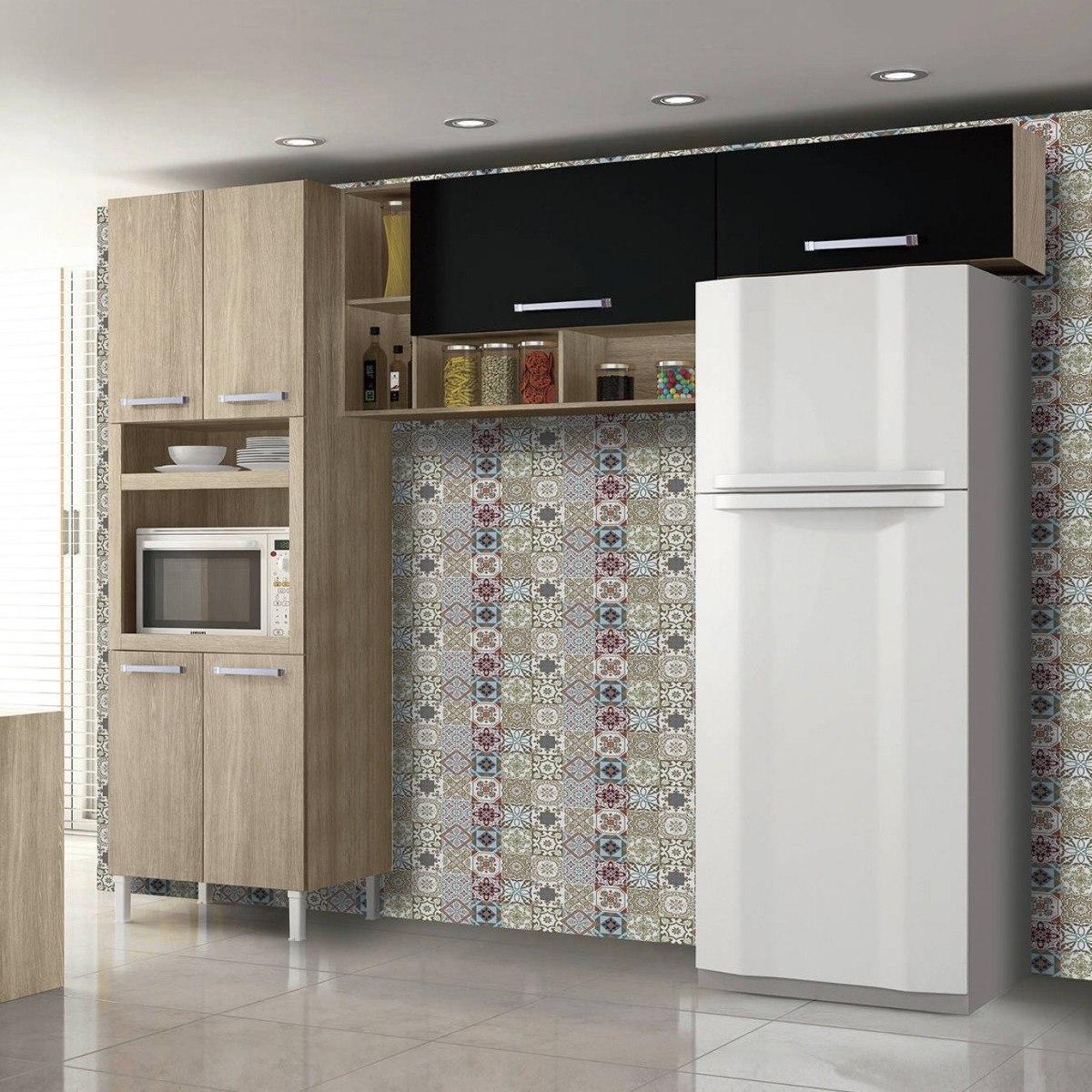 Cozinha Compacta 3 Pe As Com Nichos Sophia Master Eewt R 691 10