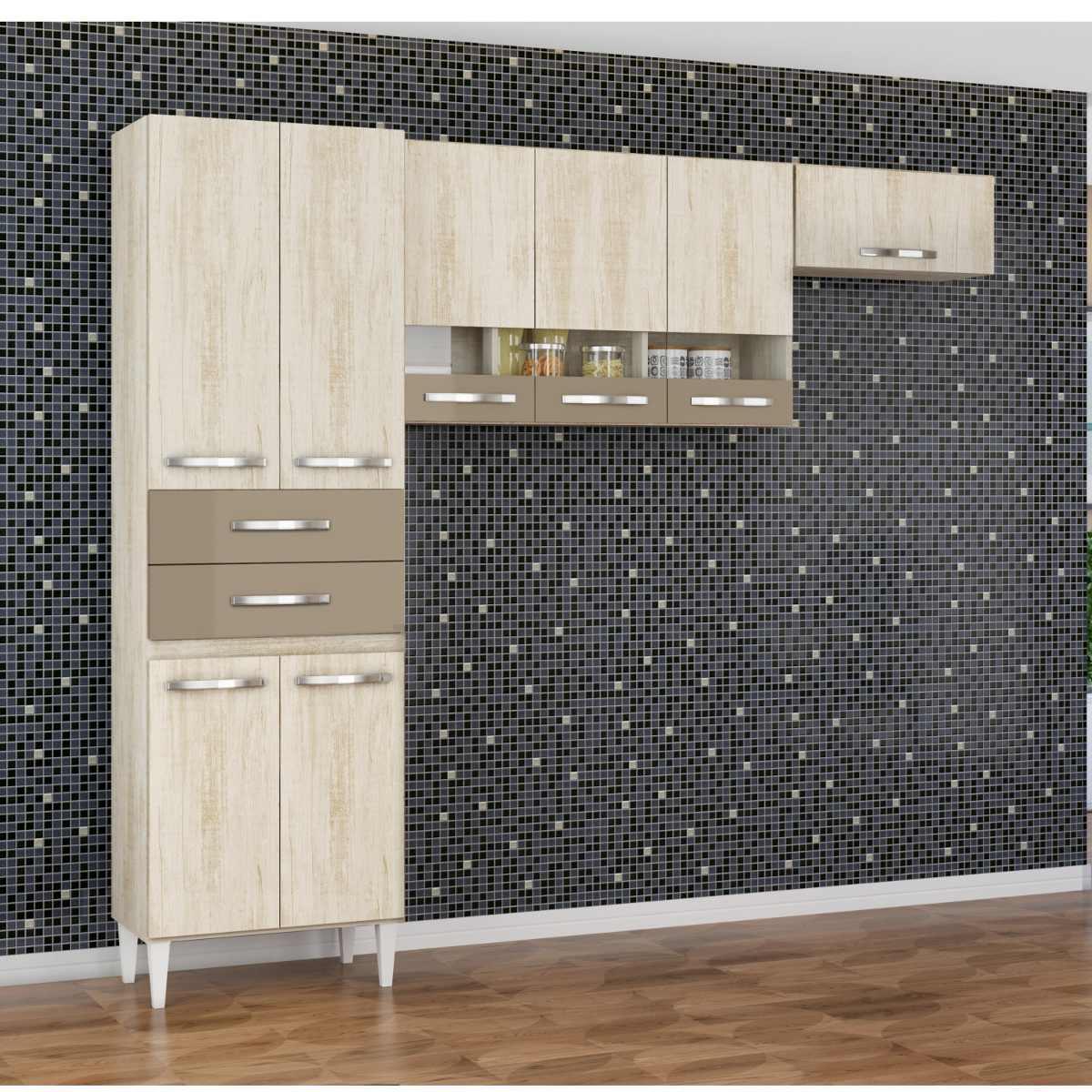Cozinha Compacta 3 Pe As Julia N O Acompanha Balc Hgwt R 518 30