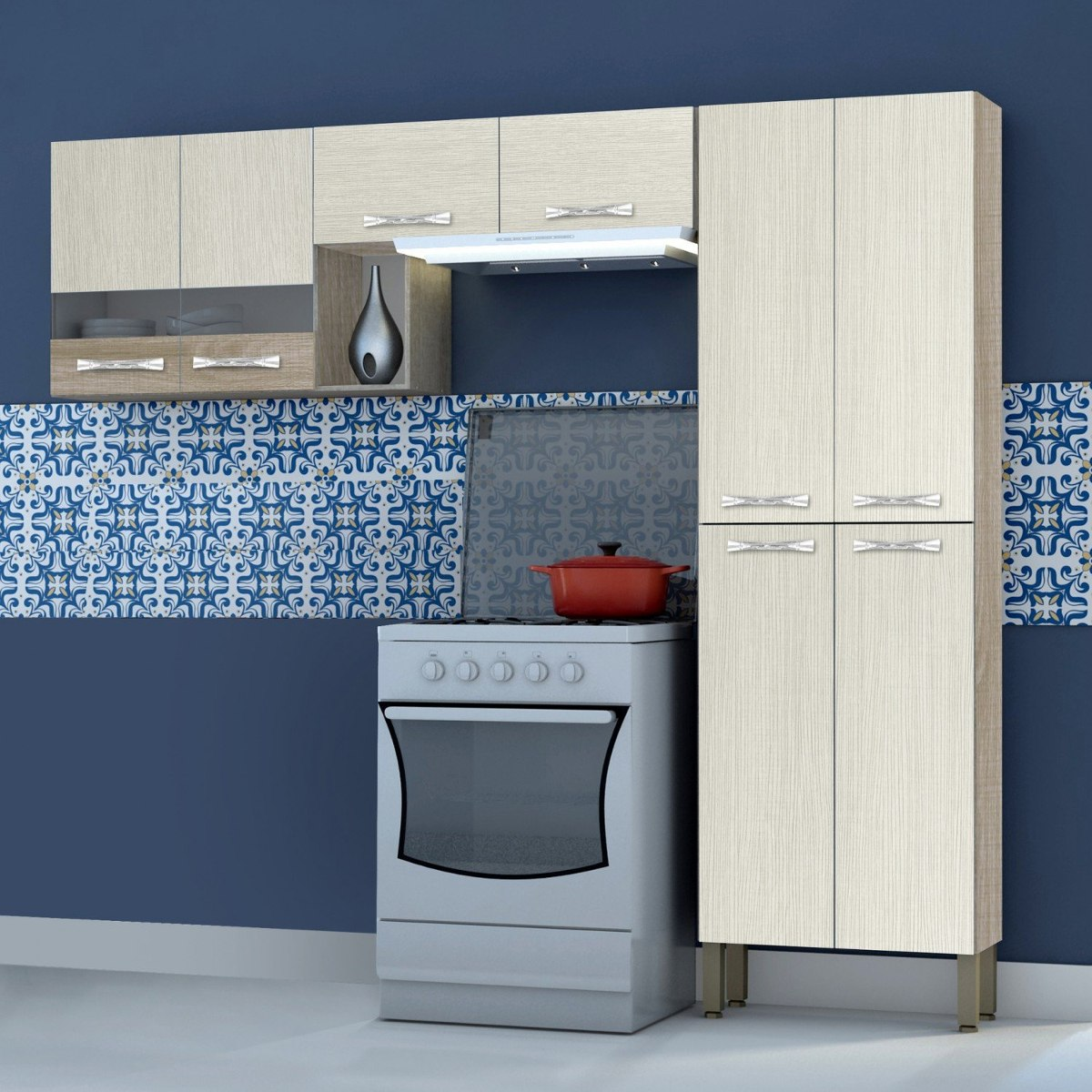 Cozinha Compacta 3 Pe As Mega Kits Paran Gc R 359 90 Em Mercado