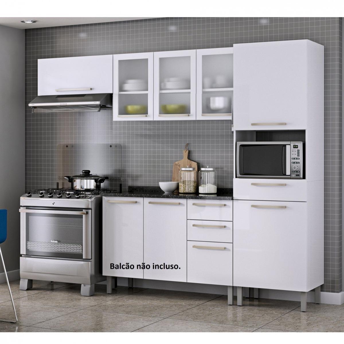Cozinha Compacta 3 Pe As Sem Balc O Dandara Itatiaia Cjwt R 1 190