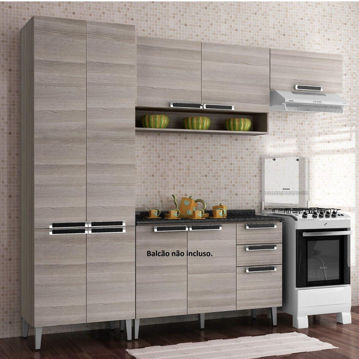 Cozinha Compacta 3 Pe As Sem Balc O Jazz Itatiaia Jj R 719 90 Em