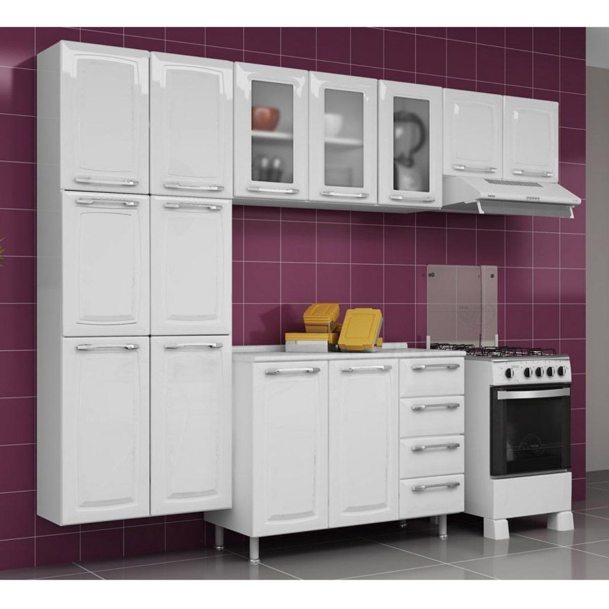 Cozinha Compacta 4 Pe As Com Balc O Criativa Ec R 1 239 90 Em
