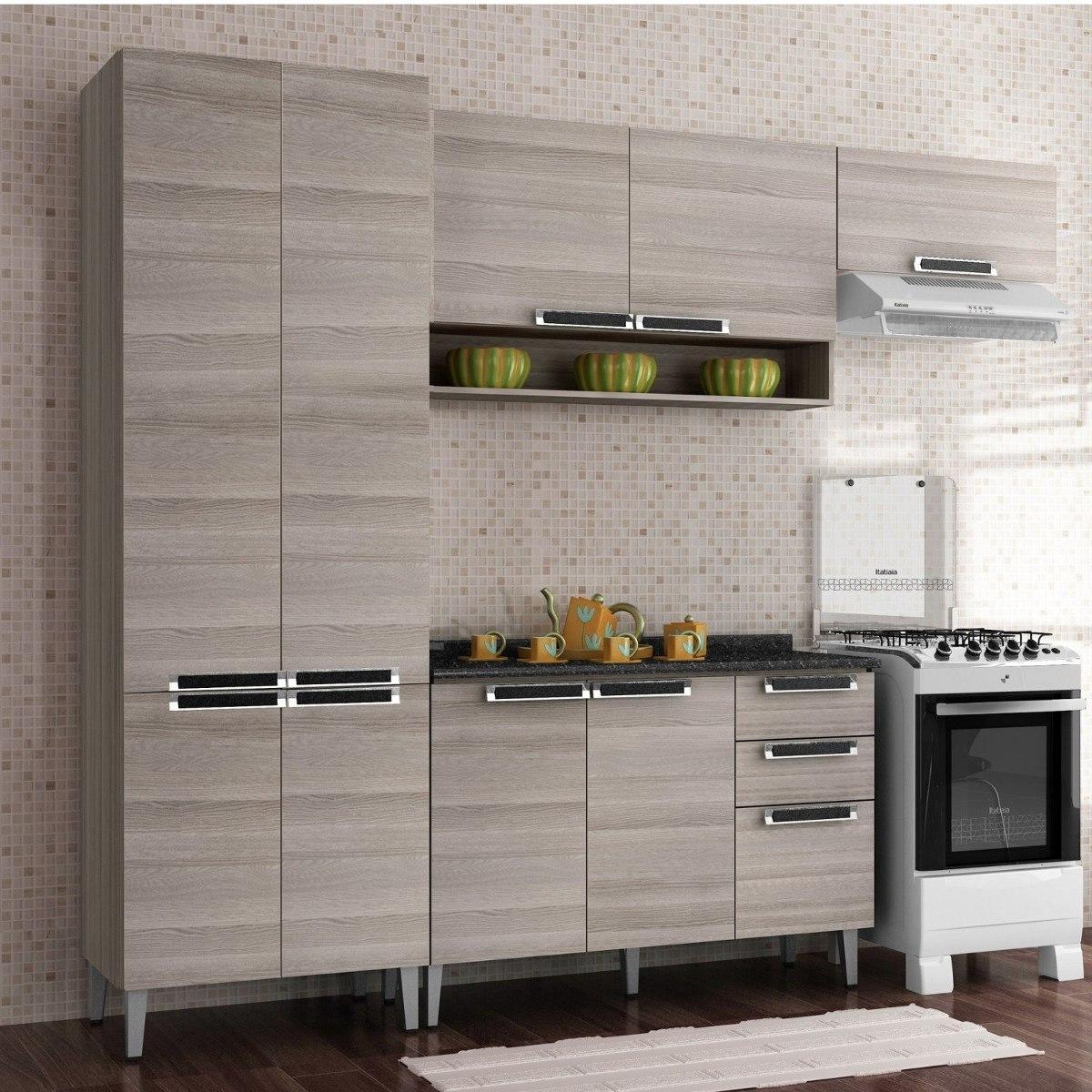Cozinha Compacta 4 Pe As Com Balc O Jazz Itatiaia Jg R 1 089 90