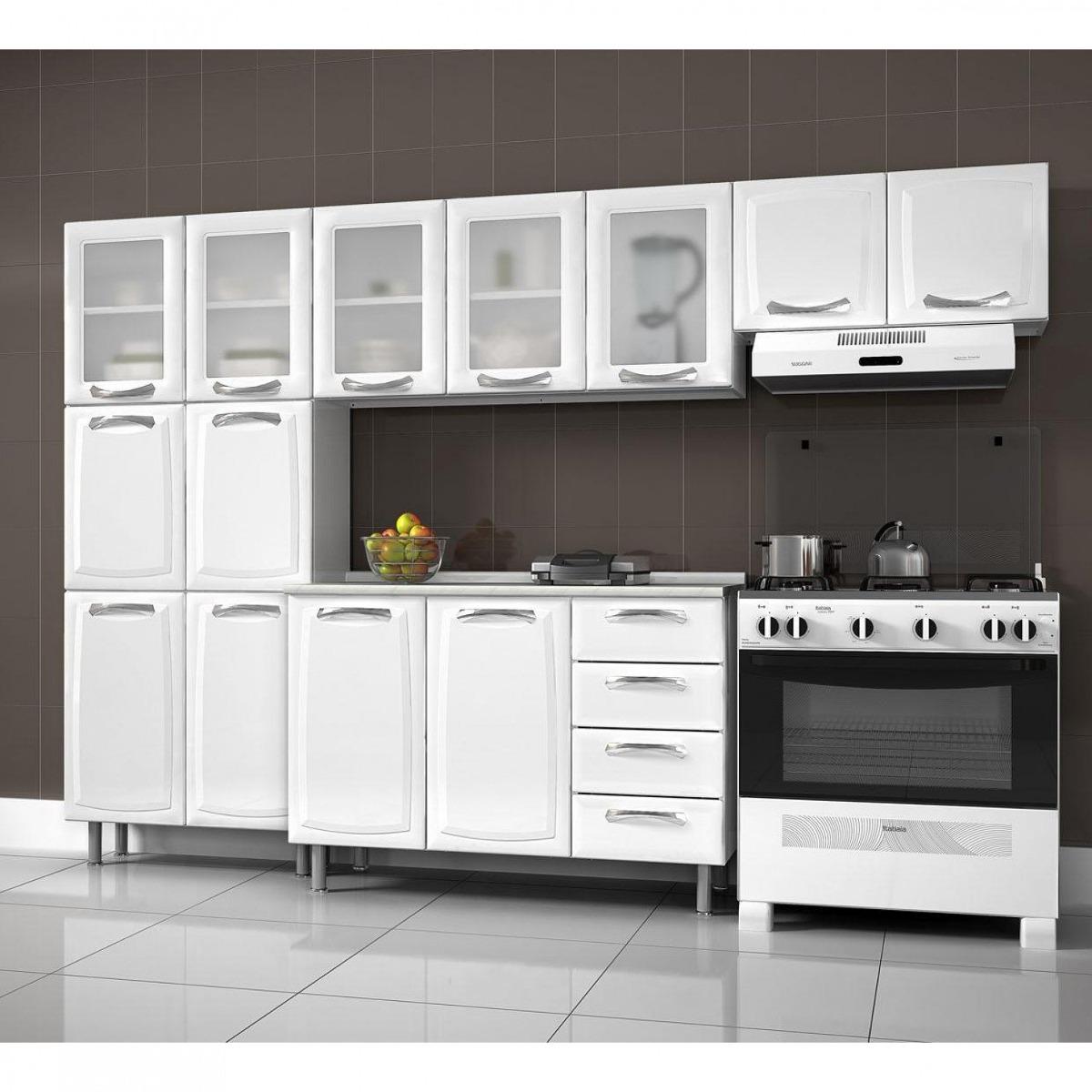 Cozinha Compacta 4 Pe As Com Balc O Premium Itatiaia Bewt R 1 622