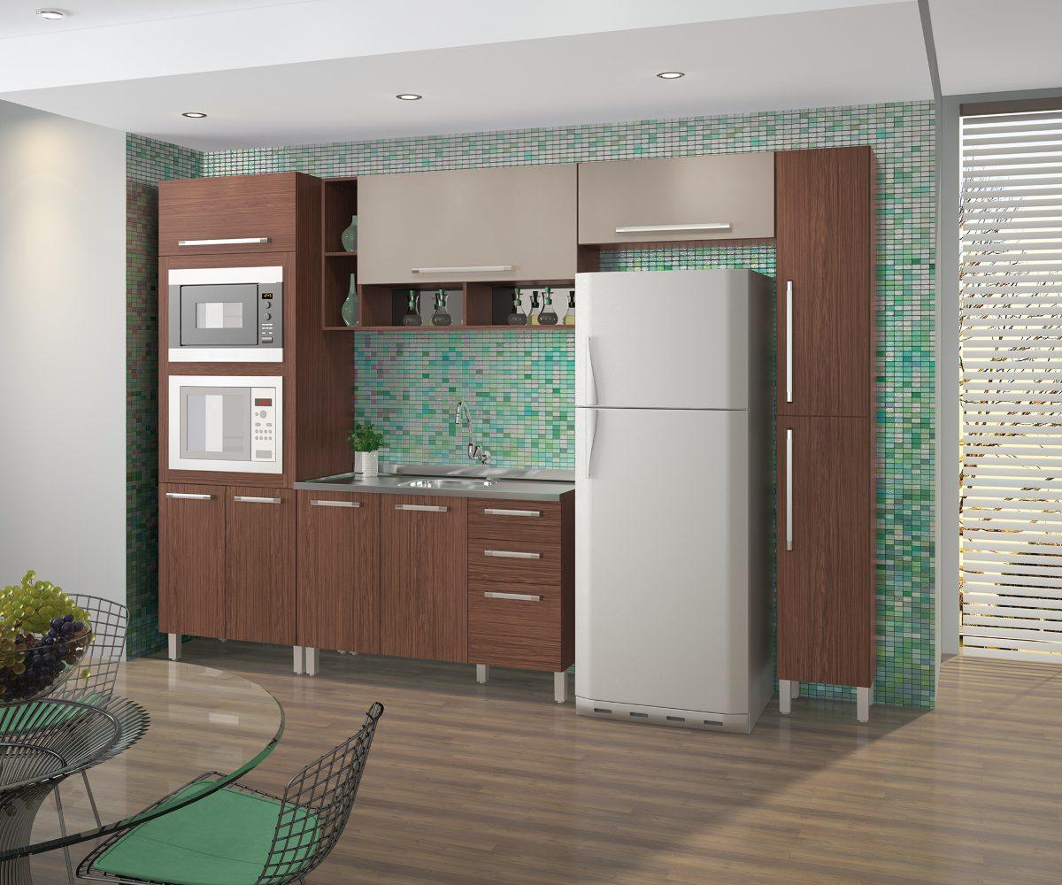 Cozinha Compacta Completa Cozinha Completa Telasul Safira De Ao