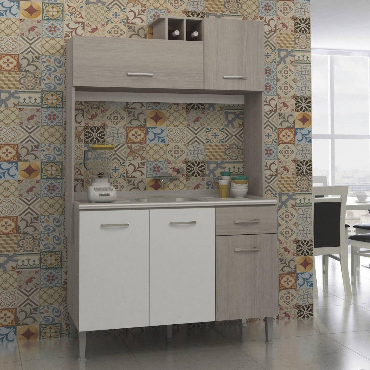 Cozinha Compacta 5 Portas 1 Gaveta 0276 Sofia Jcwt R 364 70 Em