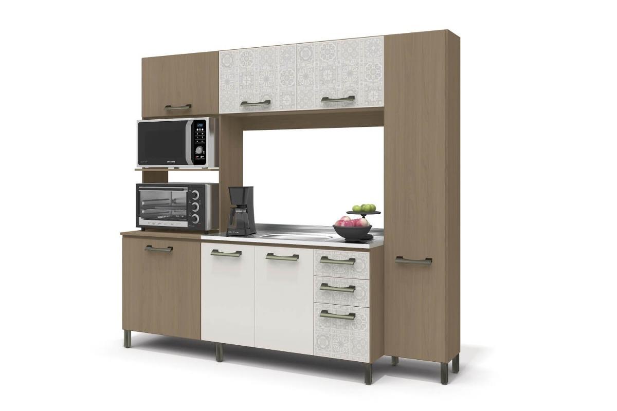 Cozinha Compacta 7 Portas 3 Gavetas E780 Kappesberg R 897 90 Em