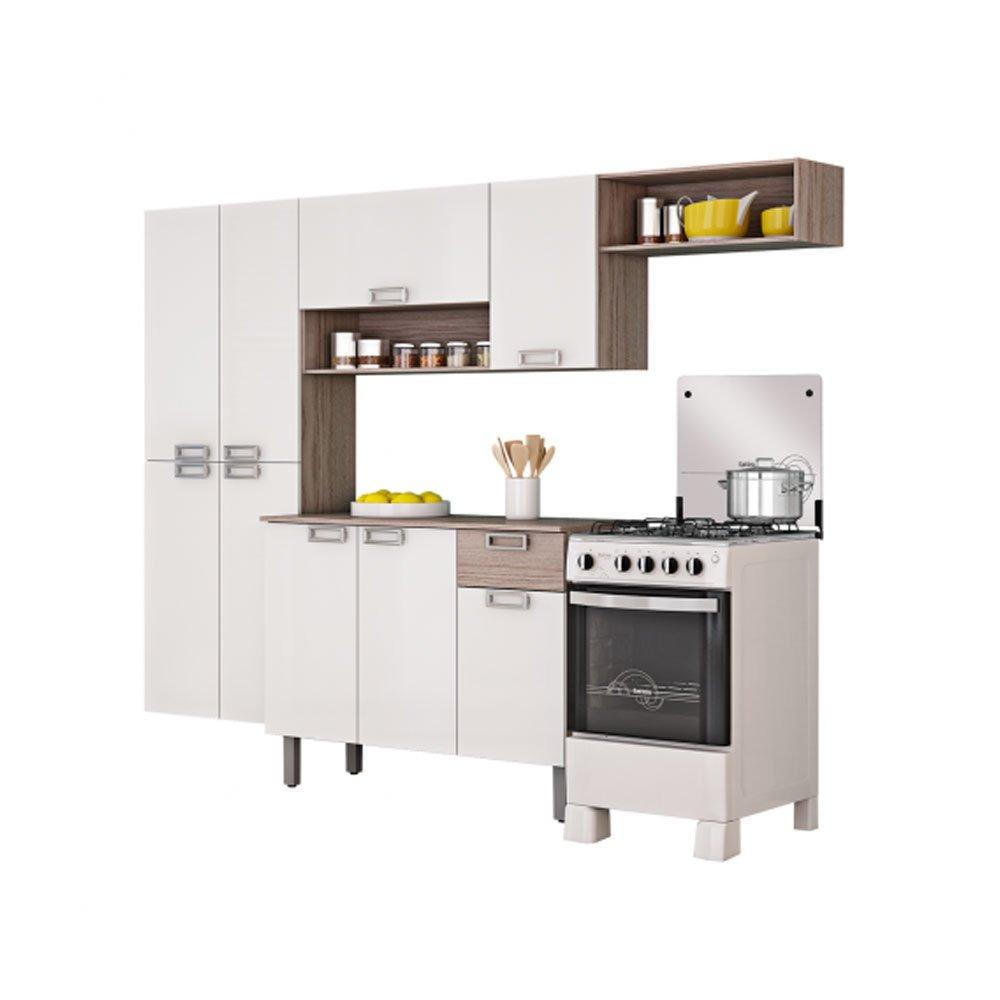 Cozinha Compacta Amora 9 Portas 1 Gaveta Em Mdp Itatiaia R 568 52