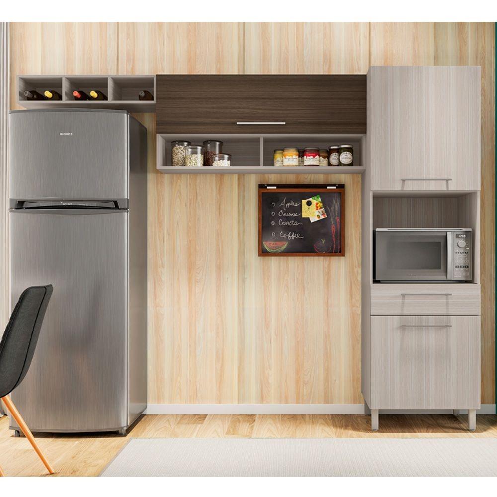 Cozinha Compacta Anne 3 Pe As Poliman R 779 90 Em Mercado Livre