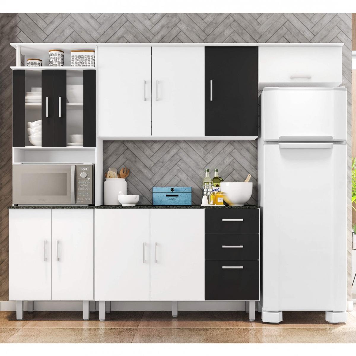 Cozinha Compacta Balc O Com Tampo 120cm 3 Pe As Gd R 579 90 Em